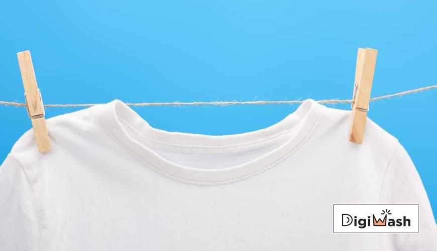 شستن لباس سفید و روشن