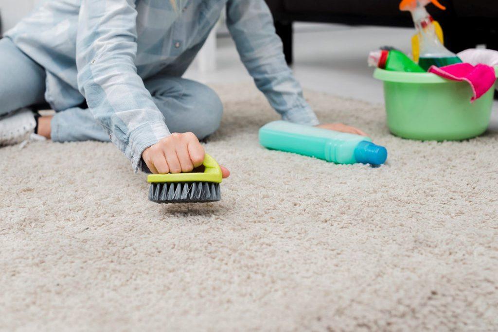 زرد شدن فرش بعد از شستشو