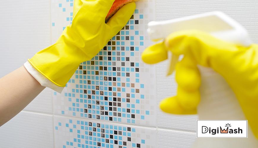 6 ترفند ساده تمیز کردن کاشی آشپزخانه