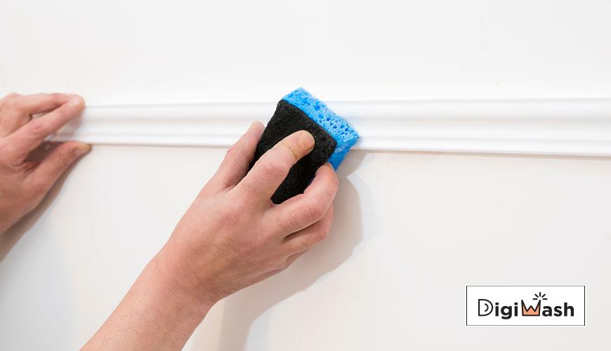 تمیز کردن دیوار گچی و پاک کردن دیوار گچی