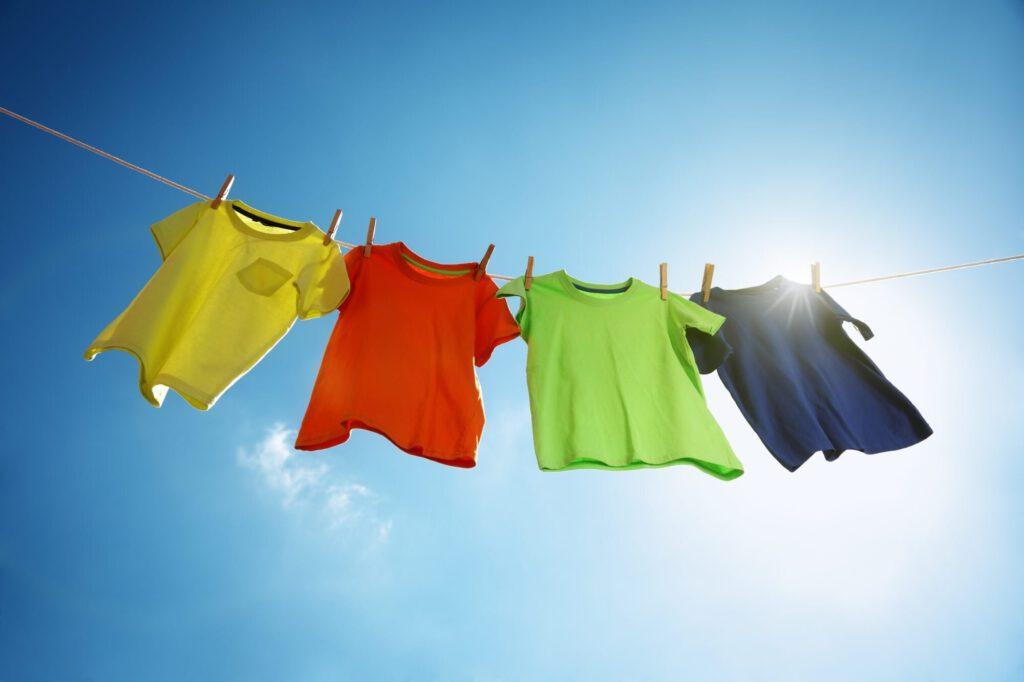 تثبیت رنگ لباس
