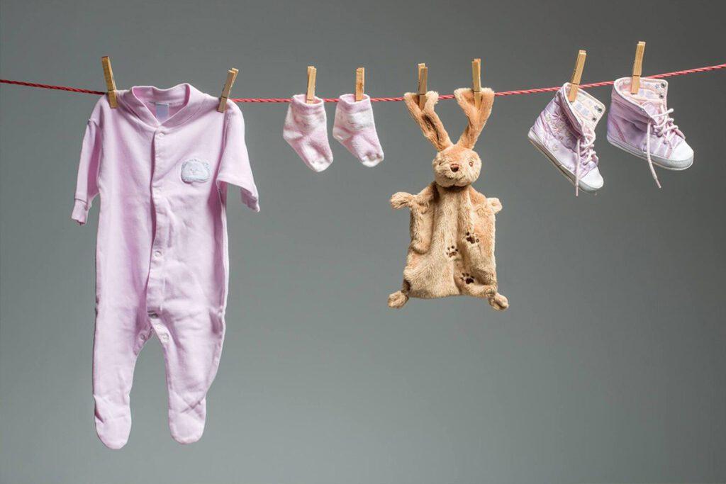 شستشوی لباس نوزاد