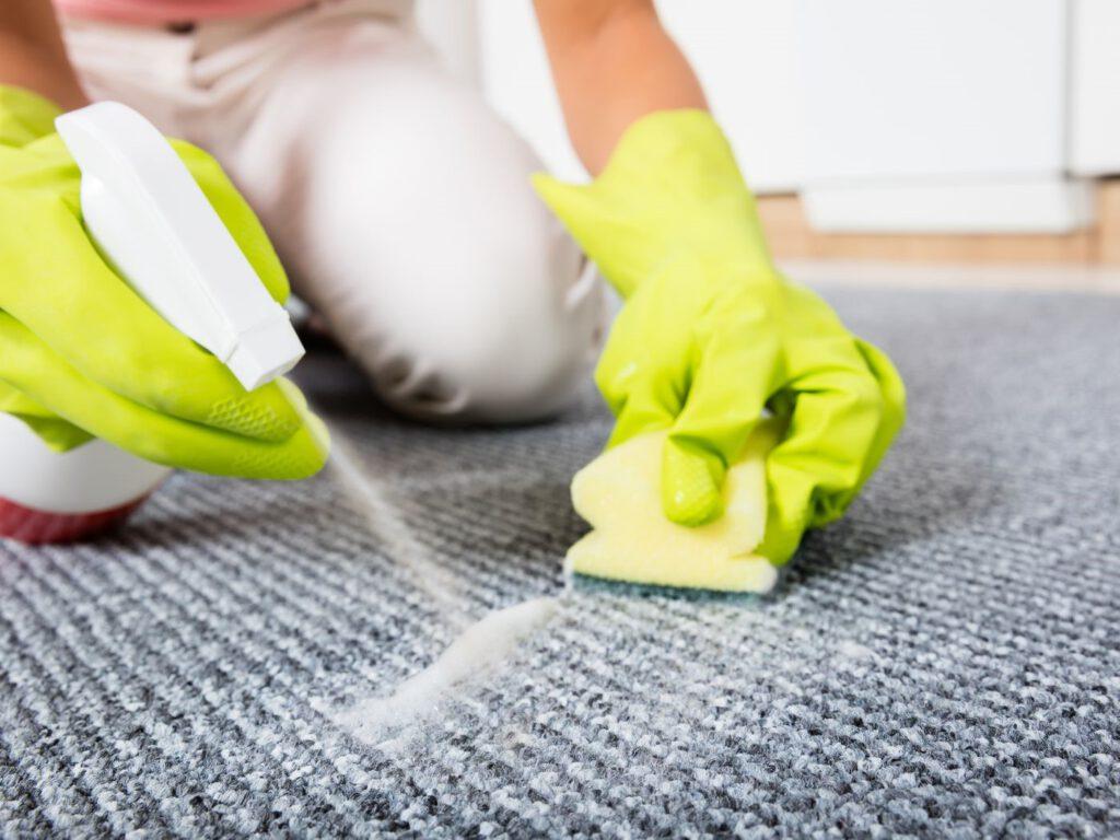 تمیز کردن و لکه بری موکت با شامپو فرش
