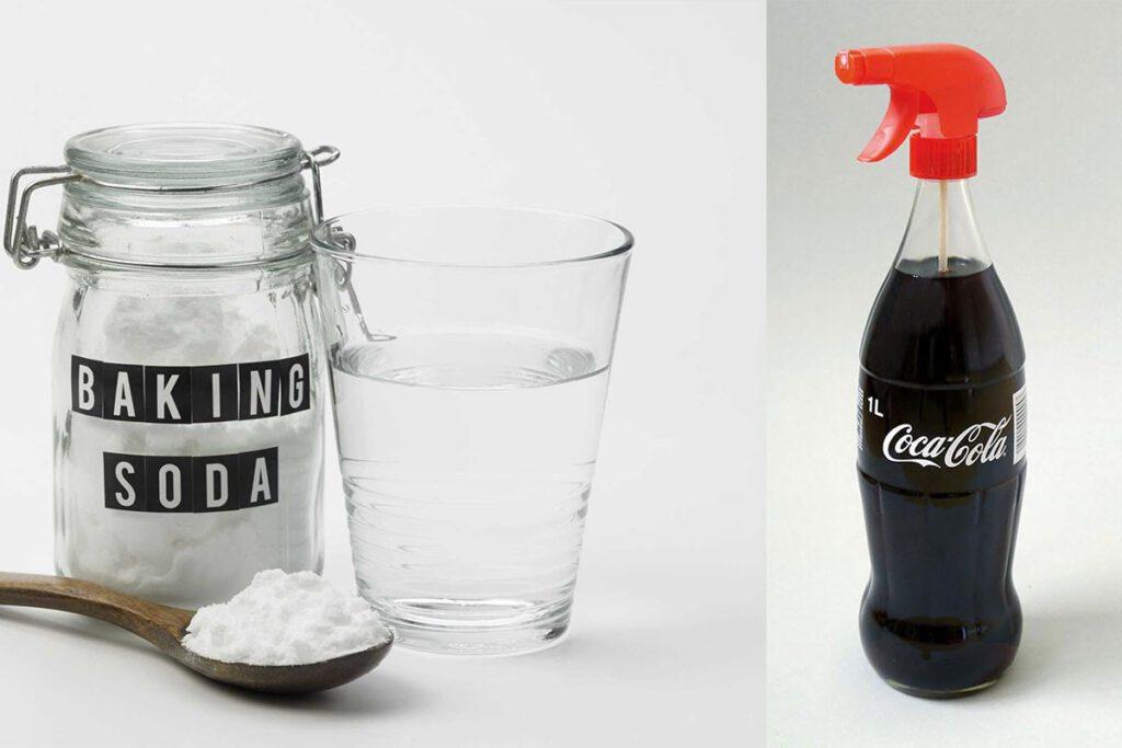 پاک کردن لکه بنزین یا گازوئیل از روی لباس با نوشابه