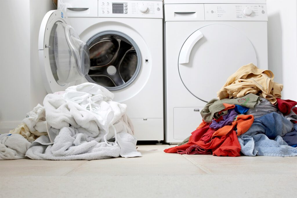 تفکیک لباس ها برای شستشو با لباس شویی