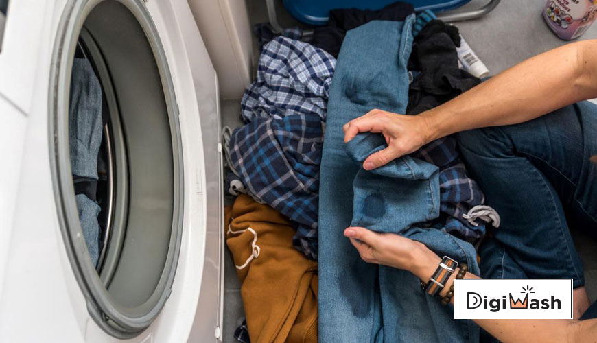 پاک کردن لکه تاید از روی لباس